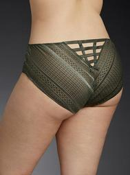 Lace Ladder Hipster Panty
