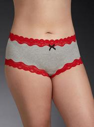 Lace Trim Cheeky Panty