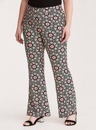 Torrid Insider Floral Border Challis Pants