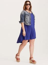 Challis Hi-Lo Dress