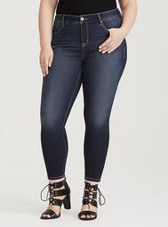 Premium Stretch Curvy Skinny Jean - Dark Wash