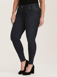 Premium Stretch Bombshell Skinny Jean - Dark Wash