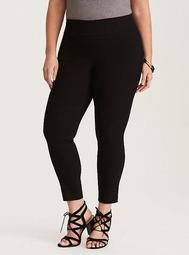 Pixie Pant - Black Deluxe Stretch