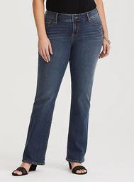 Relaxed Boot Jean - Medium Wash