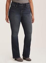 Premium Stretch Slim Boot Jean - Dark Wash