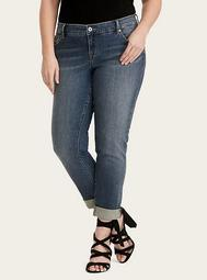 Boyfriend Jeans - Medium Wash