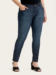 Curvy Skinny Jeans - Dark Wash