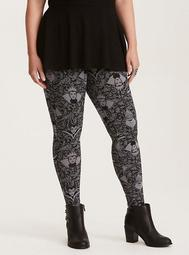 Disney Villains Lace Print Leggings