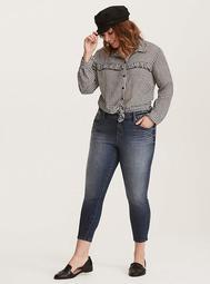 Premium Ultimate Stretch High-Rise Curvy Skinny Jeans - Medium Wash