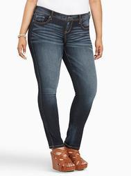 Premium Stretch Luxe Skinny Jean - Dark Wash