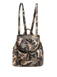 Terra Small Camo Backpack
