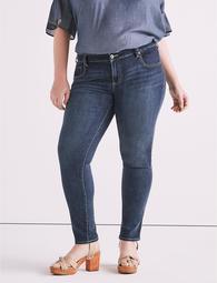 Plus Size Ginger Skinny Jean In Barrier