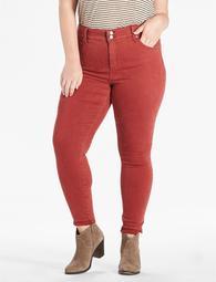 Emma Super Skinny Jean In Brick Red