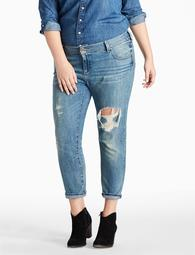 Plus Size Georgia Boyfriend Jean In Hatch