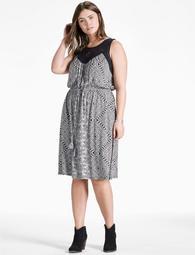 Knit Macrame Dress