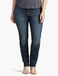 Plus Size Emma Straight Leg Jean In Tiburon