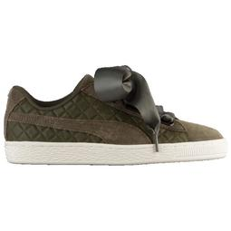 PUMA Suede Heart Quilted