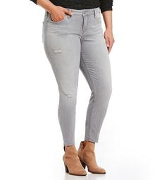 Silver Jeans Co. Plus Aiko Ankle Skinny Jeans