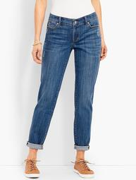 Denim Boyfriend Ankle-Carson Wash