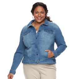 Plus Size Gloria Vanderbilt Ellie Denim Jacket