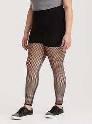 Black Fishnet Legging