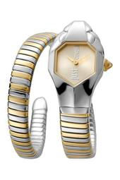 Women's Glam Chic Two-Tone Cuff Watch, 22mm