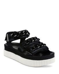 Women's Ivie Satin Chain Platform Sandals