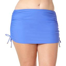Collections By Catalina Women's Plus Skirted Swimsuit Bottom