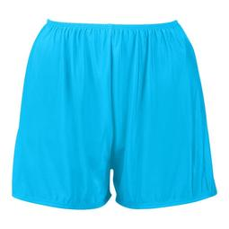 Plus Size Swim Shorts with Built in Panty - Available in 4 COLORS - 32W / Caribbean Blue