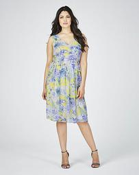 Lovedrobe Print Midi Dress