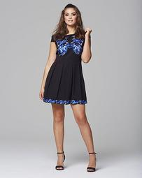 Wolf & Whistle Embroidered Dress
