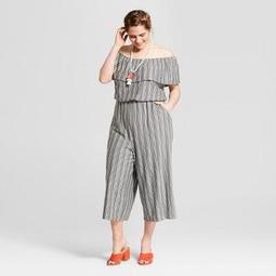 7ada03420ab3 Xhilaration™ Women s Plus Size Striped Off the Shoulder Knit