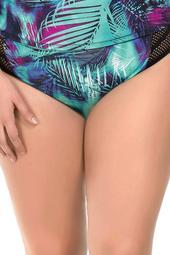 Printed Bikini Bottoms (Plus Size)