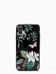 Jeweled Botanical Iphone X Case
