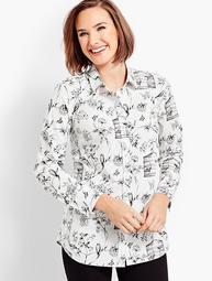 Birdcage Toile Shirt