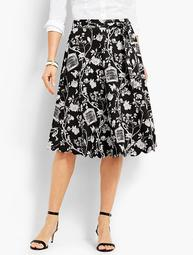 Scallop-Edge Skirt