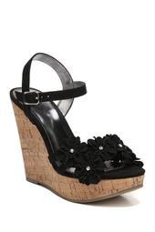 Belinda Floral Wedge Sandal