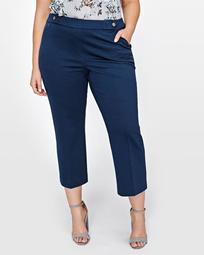 Michel Studio Crop Flare Pant