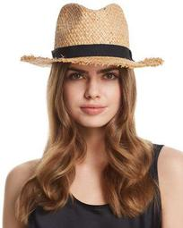 Frayed Panama Hat - 100% Exclusive