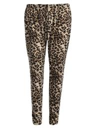 Christmas Clearance! Women High Waisted Leopard Stretch Tights Casual Skinny Legging Plus Size Margot