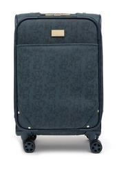 "Deriella 20"" Snake Embossed Expandable Carry-On"