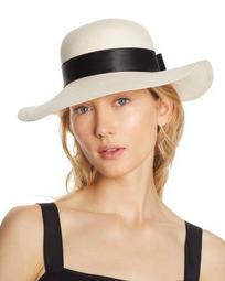 Bow Detail Floppy Sun Hat - 100% Exclusive
