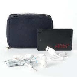 Apt. 9® RFID-Blocking Phone Charging Carryall Wallet with Ear Buds