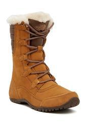 Nuptse Purna II Faux Fur Waterproof Suede Boot