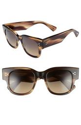 Tavita 50mm Polarized Square Sunglasses
