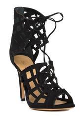 Blake Leather Caged Sandal