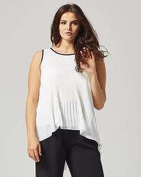 Truly You Dip Back Blouse