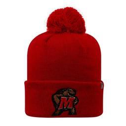 Youth Top of the World Maryland Terrapins Pom Beanie