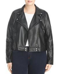 Jones Faux Leather Moto Jacket