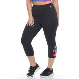 Plus Size FILA SPORT® Activate Crisscross Capri Leggings